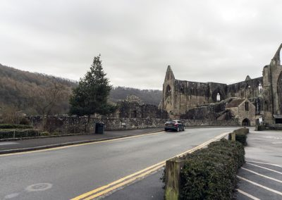 Tintern Abbey on the doorstep of the Anchor Inn
