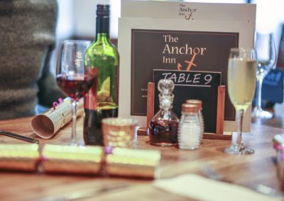 Celebrate a special occasion at the Anchor Inn