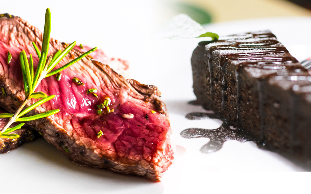 Steak and a pudding for £16.50